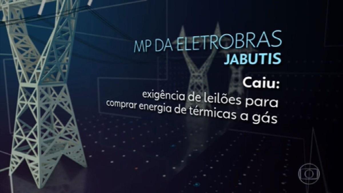 Senado aprova MP que autoriza privatização da Eletrobras