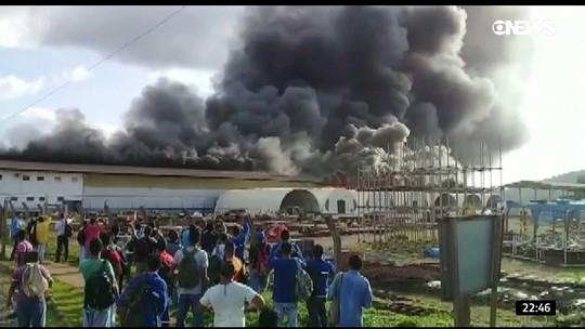 Polícia investiga incêndio em área da usina de Belo Monte