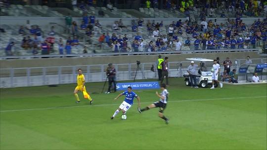 Cruzeiro vence o Santos de virada no Mineirão; veja os gols