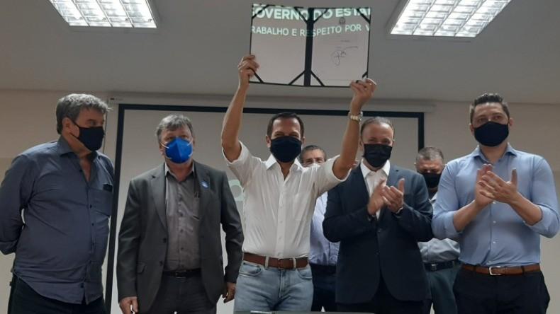 Governador João Doria anuncia liberação de R$ 15,4 milhões para obras em Araraquara