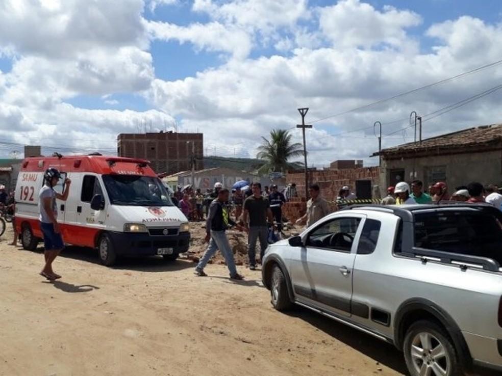 Acidente aconteceu em Santa Cruz do Capibaribe (Foto: Ney Lima/ Divulgação)