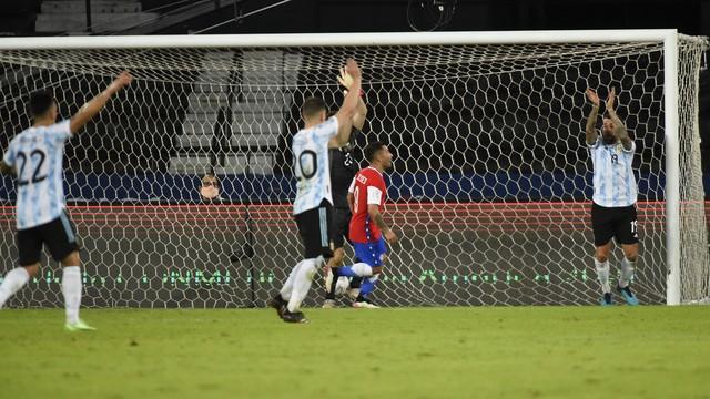 Gol Chile x Argentina Copa América