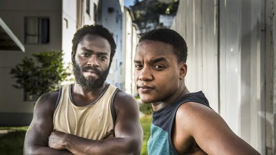 'Cidade dos Homens': Douglas Silva e Darlan Cunha contam que amizade da dupla vai além da série