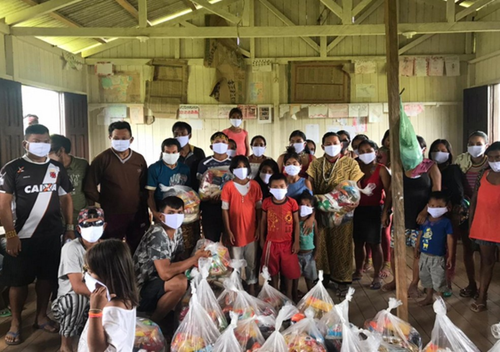 No total, 116 aldeias são atendidas pelo projeto social — Foto: Ninawá Inu Huni kui/Fephac