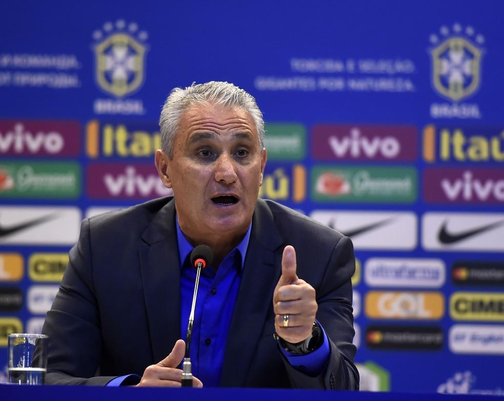Tite comenta a convocação da Seleção (Foto: André Durão)