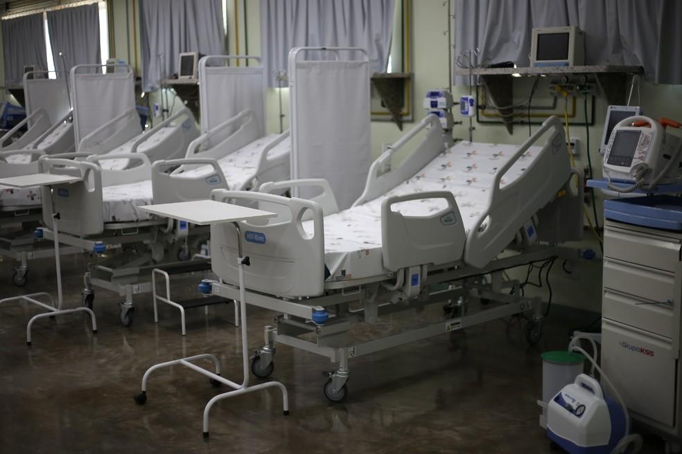 Hospital Municipal conta com 116 leitos para pacientes com a Covid-19, em Foz do Iguaçu — Foto: Prefeitura de Foz do Iguaçu/Divulgação