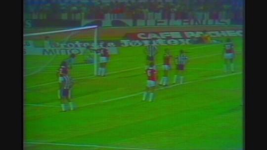 Você se lembra? Com dois gols de Cerezo, Atlético-MG venceu Internacional em 1980