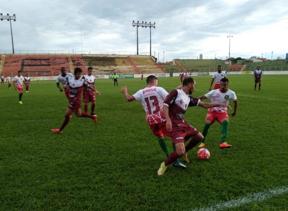 Patrocinense venceu o Barretos por 1 a 0 fora de casa — Foto: Renato Oliveira/Difusora 95