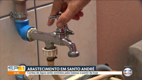 Sabesp assume abastecimento de água em Santo André a partir desta quarta-feira (11)