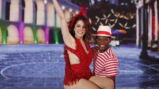 Bia Arantes e Danton Mello falam sobre trajetória no 'Dança dos Famosos 2018'