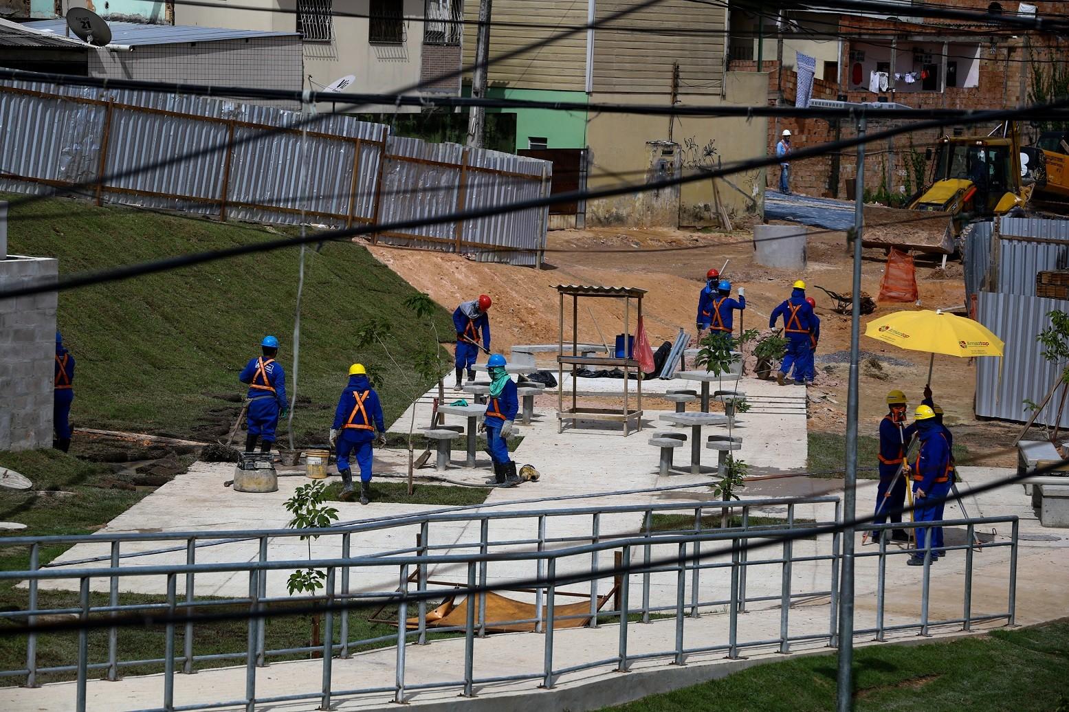 Rua do bairro São Raimundo ficará interditada até abril para obras do Prosamim, diz prefeitura de Manaus