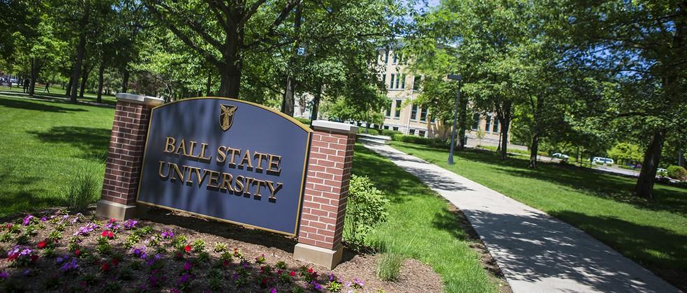 Campus da Ball State University, em Indiana, EUA — Foto: Divulgação