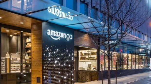 Amazon Go, primeira loja sem caixas da empresa (Foto: Reprodução)