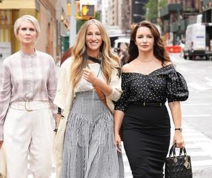 Cynthia Nixon, Sarah Jessica Parker e Kristin Davis em 'Sex and the city' | Reprodução/Instagram