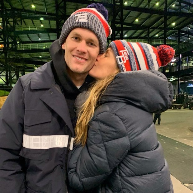 Gisele Bündchen e Tom Brady (Foto: Reprodução / Instagram)
