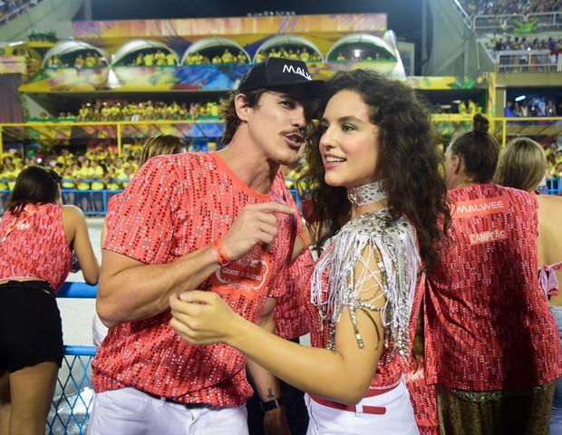 Rômulo Neto e Kéfera (Foto: Renato Wrobel / Ed. Globo)