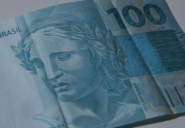 dinheiro, real, receita, lucro, nota de cem (Foto: Reprodução/Agência Brasil)