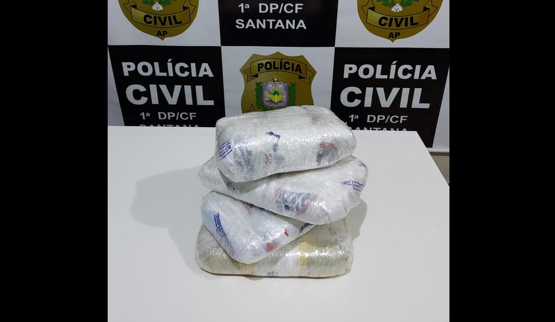 Acusado de homicídio é preso em flagrante com 4 quilos de crack em Santana, no Amapá