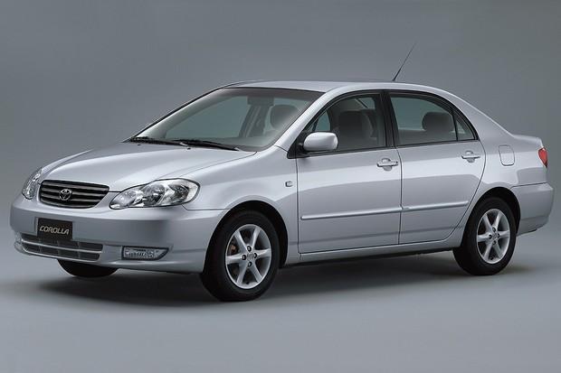 Toyota Corolla 2002 (Foto: Divulgação)