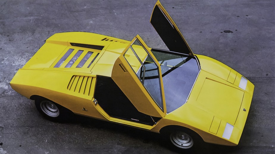 Lamborghini Countach, clássico dos anos 1970, vai voltar com tecnologia híbrida
