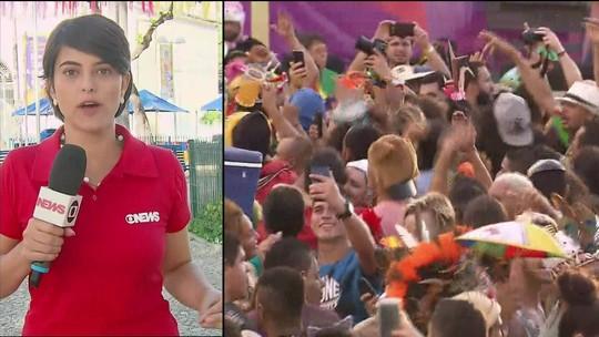 Mais de 1,6 milhão de foliões brincaram carnaval no Recife, diz prefeitura