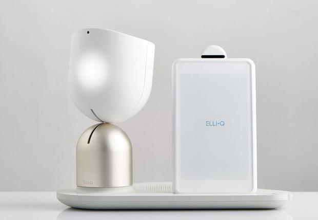 Elli-Q, robô da Intuition Robotics (Foto: Divulgação)