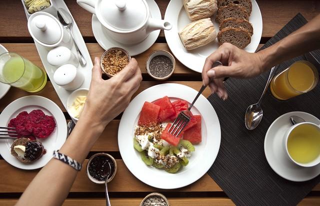 O café da manhã do Explora do Vale Sagrado (Foto: divulgação / Explora)