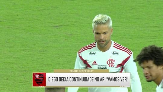 """Jornalista vê Diego de saída do Flamengo, e Petkovic comenta: """"Esperava mais dele"""""""