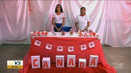 Estudantes pesquisam sobre costumes e tradições de outros países em Codó