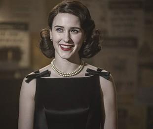 Rachel Brosnahan em 'The marvelous Mrs. Maisel' | Divulgação