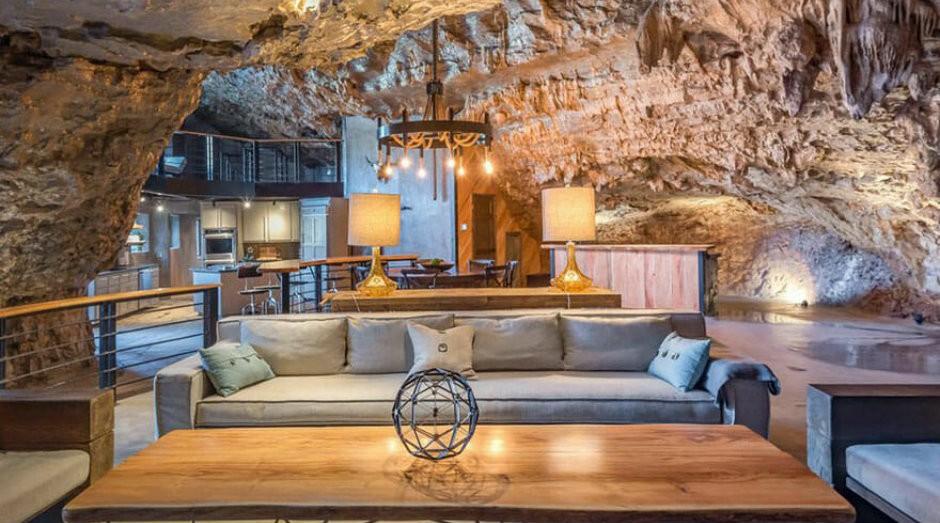 Beckham Creek Cave Lodge, no Arkansas (Foto: Divulgação)