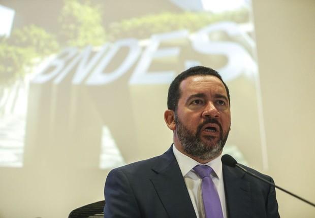 O presidente do Banco Nacional de Desenvolvimento Econômico e Social (BNDES), Dyogo Oliveira (Foto: José Cruz/Agência Brasil)