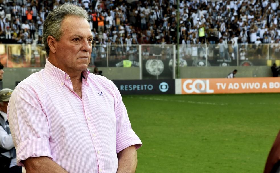 Abel Braga viu o Fluminense melhor que o Atlético-MG em boa parte do jogo (Foto: Maílson Santana/Fluminense FC)