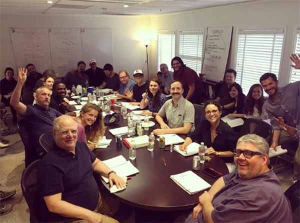 Julia Louis-Dreyfus e elenco de Veep (Foto: Instagram)