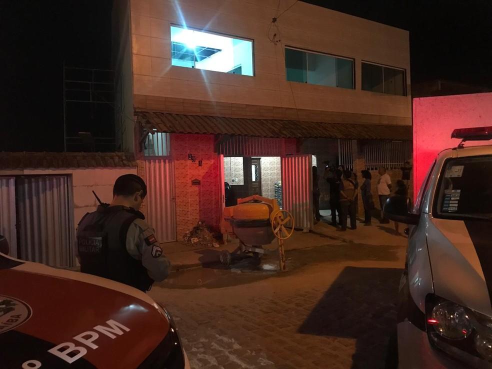 Homem é preso suspeito de matar pedreiro por causa de dívida, em Lagoa Seca, PB — Foto: Laisa Grisi/ TV Paraíba
