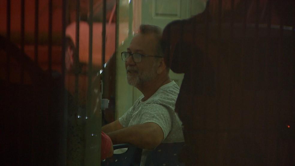 Osvaldo Pittaluga, secretário adjunto da Sedam, foi preso durante operação Pau Oco. — Foto: Reprodução/Rede Amazônica