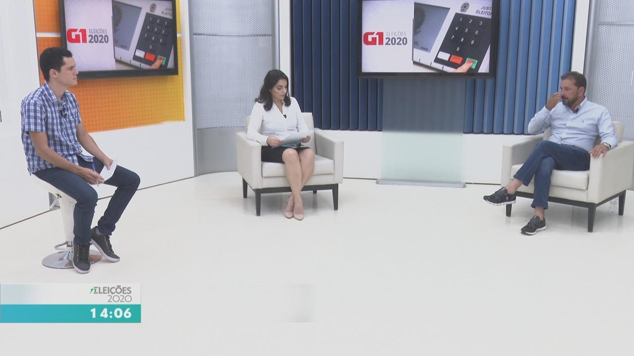 G1 entrevista candidato à prefeitura de Porto Velho Hildon Chaves