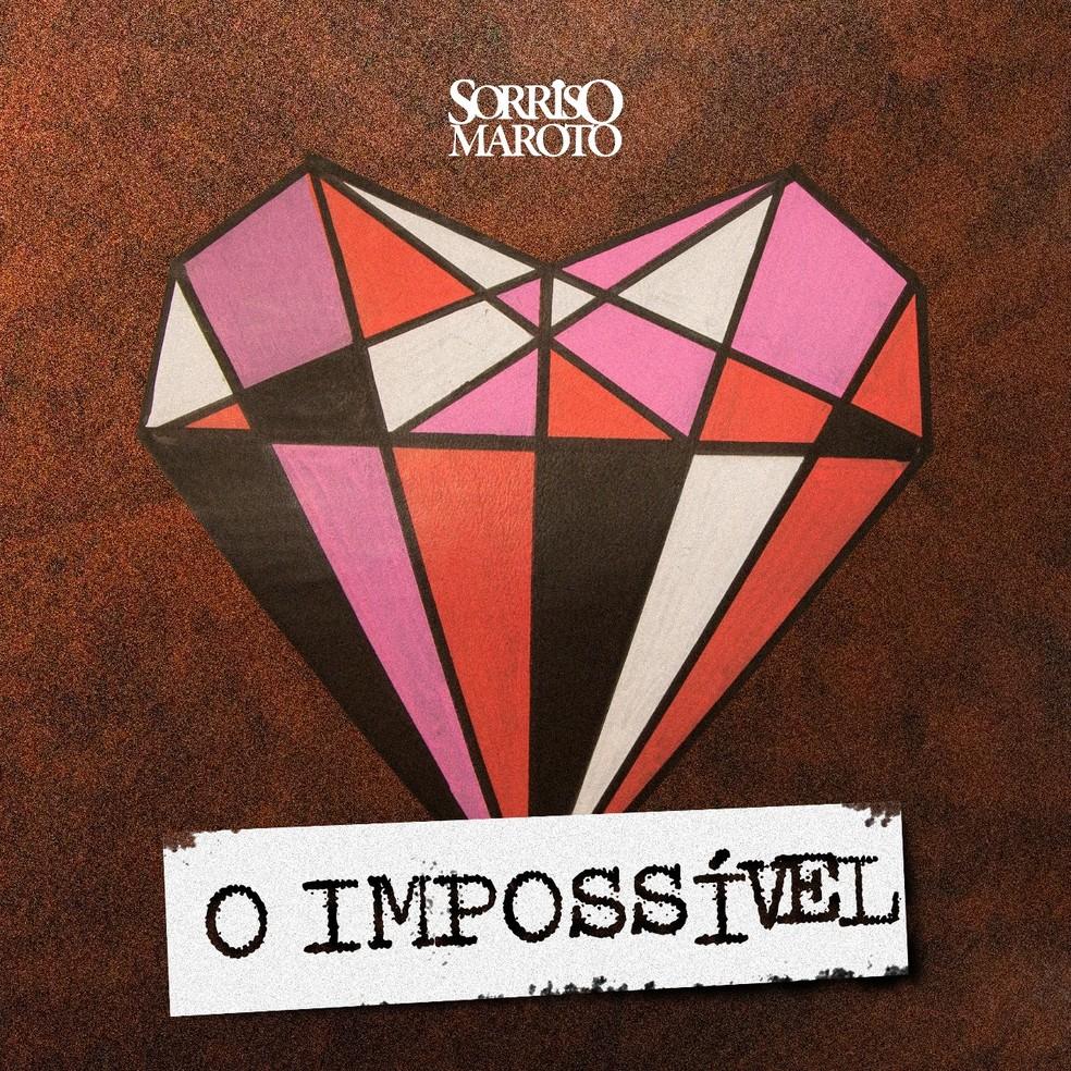 Capa do single 'O impossível', do Sorriso Maroto (Foto: Divulgação / Sony Music)