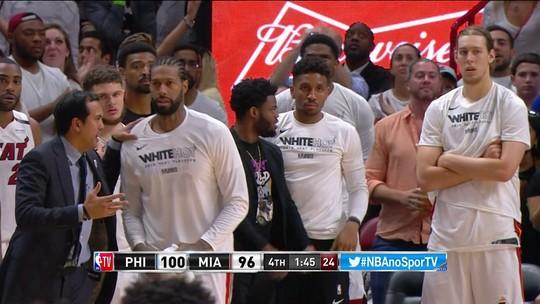 Com triplo-duplo de Simmons, Sixers vencem e abrem 3 a 1 contra o Heat