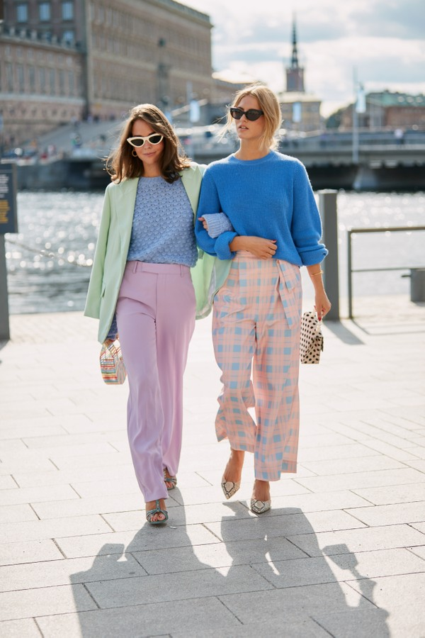Street style em Stockholm  (Foto: Imaxtree)