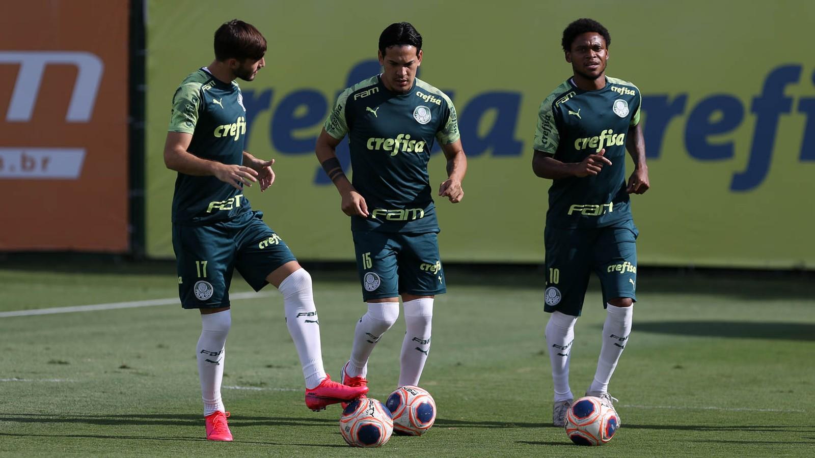Retornos, desfalques e visitas ilustres marcam terça-feira do Palmeiras; veja provável escalação