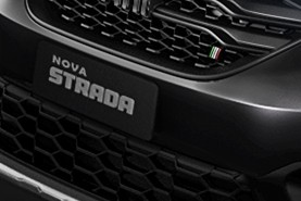 Detail New Fiat Strada Logo (Photo: Disclosure)