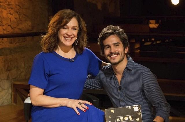 Claudia Raia e Bruno Barros (Foto: Pablo Henriques)