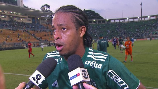 """""""Foi o resultado que a gente estava precisando"""", diz que Keno após vitória sobre o Inter"""