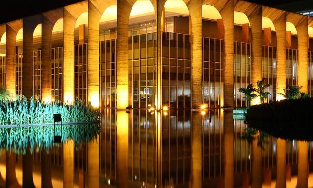 O Palácio do Itamaraty