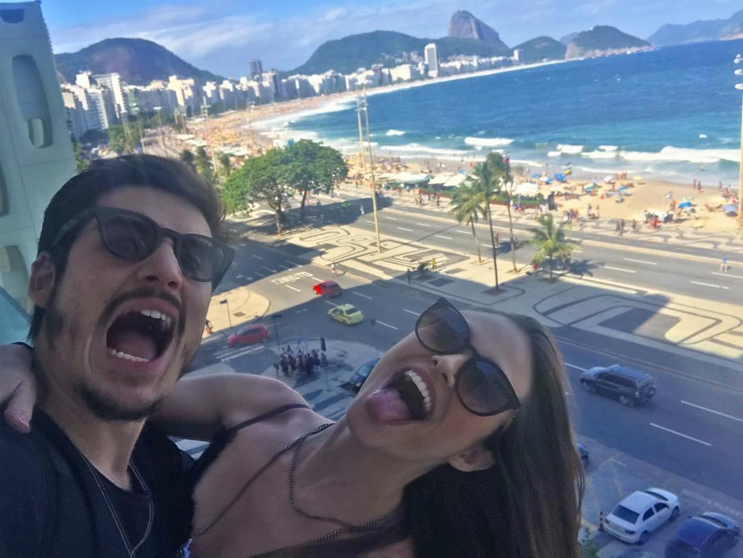 Juliana Paiva e Nicolas Prattes  (Foto: Reprodução / Instagram)