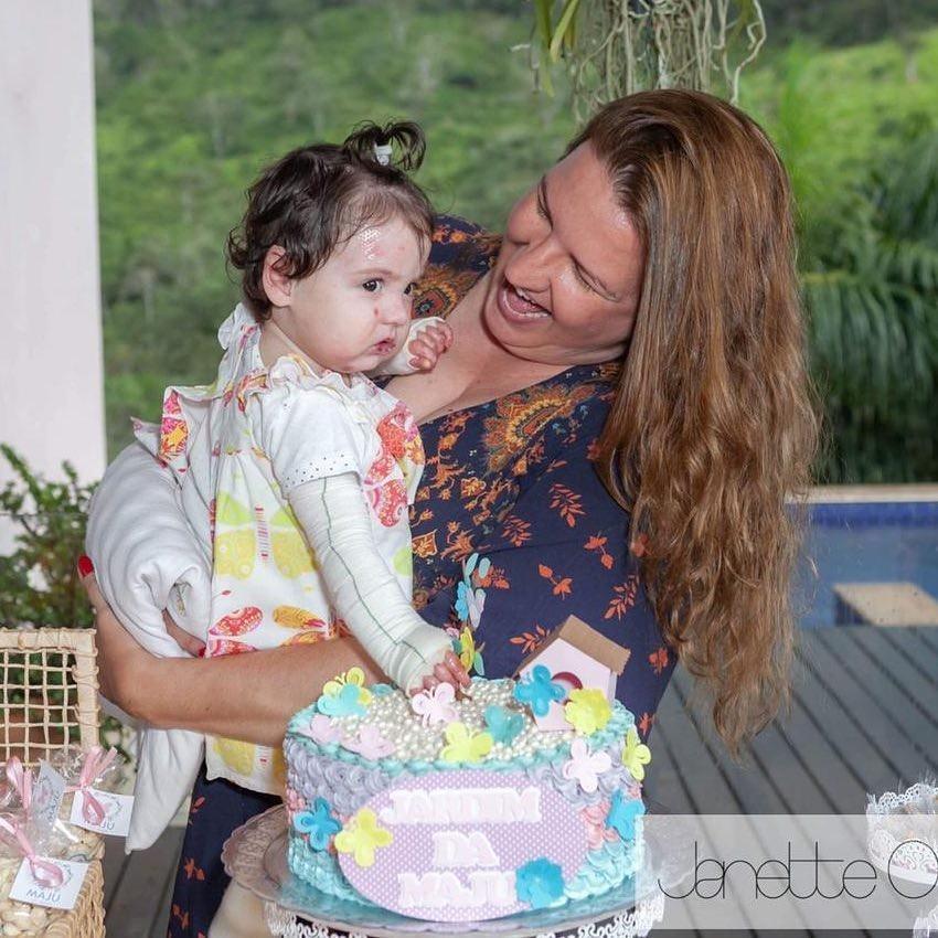 Aniversário de 1 aninho da Maria Júlia (Foto: Reprodução Instagram)