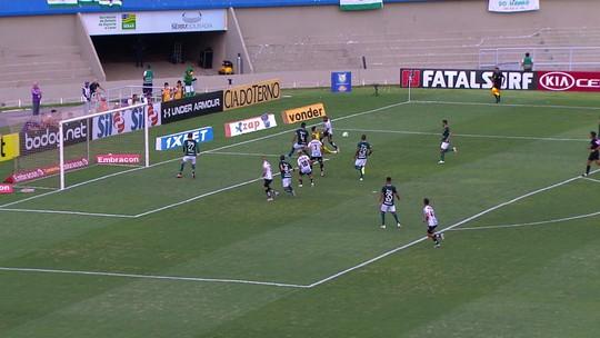 """Ney Franco descarta Libertadores e diz que derrota faz Goiás """"voltar para sua realidade"""" na Série A"""
