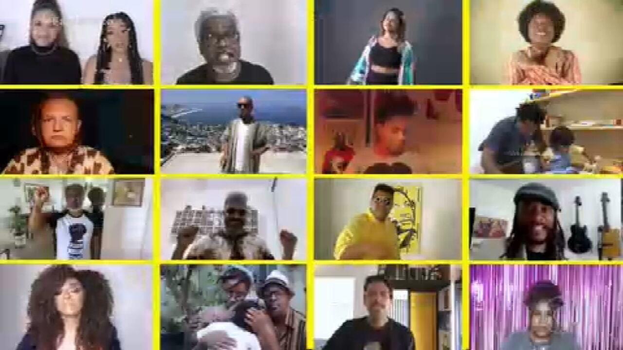 Artistas se reúnem em clipe pela luta contra o racismo