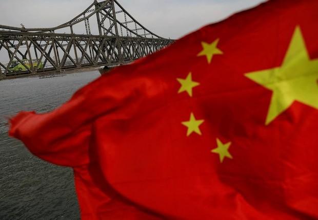 PIB da China ; economia da China ; economia chinesa ; bandeira da China ;  (Foto: Reuters)